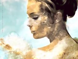 женщина, лицо, профиль, девушка, прическа, calendar, 2020