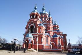 казанская церковь иркутск, города, - православные церкви,  монастыри, казанская, церковь, иркутск, россия, храм, собор, православие