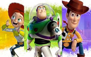 toy story 4 , 2019, мультфильмы, toy story 4, история, игрушек, постер, персонажи, афиша, woody, billy, jessie