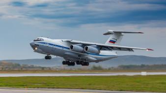 ил-76мд, авиация, военно-транспортные самолёты, советский, российский, тяжелый, военно, транспортный, окб, ильюшина