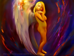 календари, фэнтези, ребенок, ангел, девочка, calendar, 2020