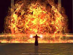 календари, фэнтези, пламя, огонь, маг, calendar, 2020