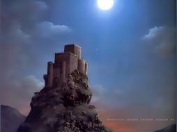 календари, фэнтези, крепость, дворец, архитектура, calendar, 2020
