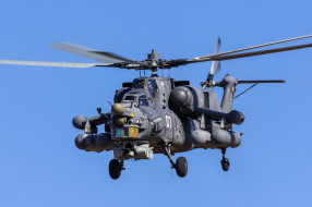 Ми- 28Н, вертолёт, вертушка, полёт, боевой, ночной охотник