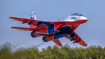 авиация, боевые самолёты, миг-29уб