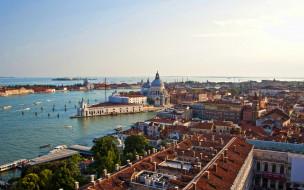 города, венеция , италия, панорама