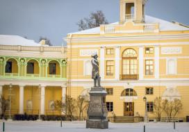 павловск, города, санкт-петербург,  петергоф , россия, санкт-, петербург, город, памятник, дворец