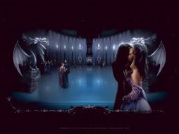 календари, фэнтези, вампир, зал, люди, дракон, скульптура, calendar, 2020