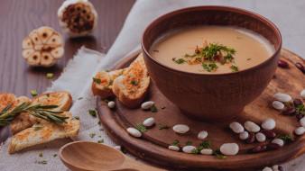 еда, первые блюда, фасолевый, суп