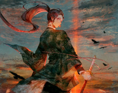 аниме, demon slayer,  kimetsu no yaiba, клинок, рассекающий, демонов