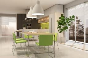 интерьер, кухня, мебель