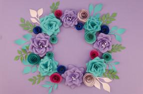 векторная графика, цветы , flowers, цветы, бумага, узор, композиция