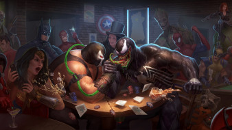 рисованное, комиксы, супергерои