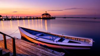 корабли, лодки,  шлюпки, северная, каролина, сша