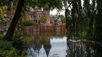 de haar castle, города, замки нидерландов, de, haar, castle