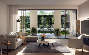 интерьер, гостиная, диван, телевизор
