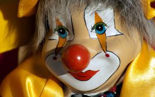 разное, маски,  карнавальные костюмы, клоун