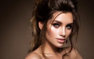 взгляд, девушка, портрет, макияж, прическа, girl, woman, hair, фотомодель, makeup, Korabkova