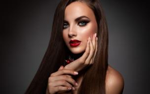 девушка, портрет, макияж, прическа, girl, woman, hair, фотомодель, makeup, Korabkova