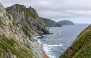 приморье, природа, побережье, россия, море, берег, скалы