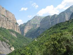черекское ущелье, природа, горы, черекское, ущелье, кавказ, северный, россия