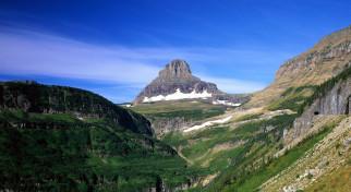 природа, горы, зелень, небо