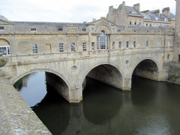 pulteney bridge, bath, somerset, uk, города, бат , великобритания, pulteney, bridge