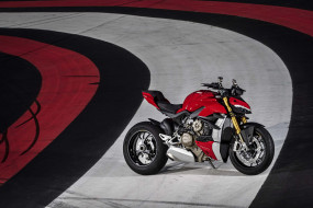 ducati streetfighter, мотоциклы, ducati, streetfighter, мотоцикл, красный