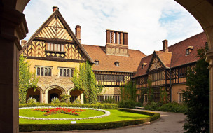 cecilienhof palace, potsdam, germany, города, - дворцы,  замки,  крепости, cecilienhof, palace