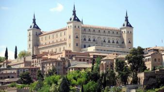 alcazar, spain, города, - дворцы,  замки,  крепости