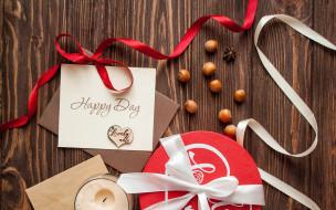 праздничные, подарки и коробочки, свеча, подарок, ленты