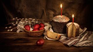праздничные, пасха, верба, крашенки, куличи, свечи