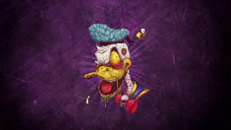 рисованное, кино,  мультфильмы, zombie, donald, duck