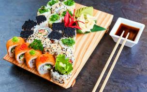 еда, рыба,  морепродукты,  суши,  роллы, суши, роллы, японская, кухня