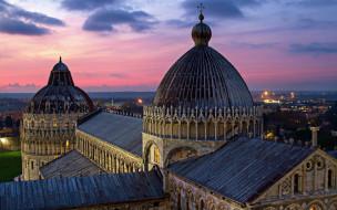 города, пиза , италия, собор