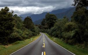 природа, дороги, шоссе