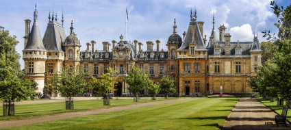 waddesdon manor, buckinghamshire, england, города, - дворцы,  замки,  крепости, waddesdon, manor