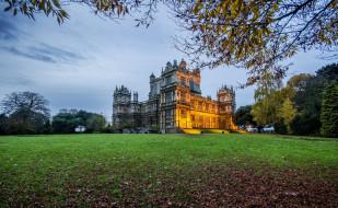 wollaton hall, nottingham, england, города, - дворцы,  замки,  крепости, wollaton, hall