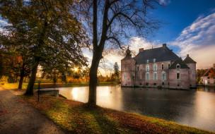 cannenburg castle, города, замки нидерландов, cannenburg, castle