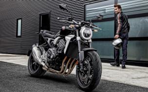 honda cb1000r, мотоциклы, honda, cb1000r, вид, спереди, экстерьер, новый, черный, японские