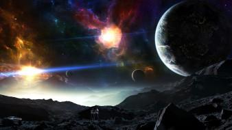 космос, арт, the, artist, tylercreatesworlds