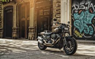 2020 harley-davidson fat boy, мотоциклы, harley-davidson, harley, davidson, fat, boy, 2020, экстерьер, черный, мотоцикл, американские