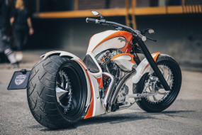 обои для рабочего стола 1920x1280 мотоциклы, customs, mystery, custom, thunderbike