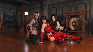 3д графика, фантазия , fantasy, девушки, фон, взгляд, униформа