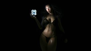 3д графика, фантазия , fantasy, девушка, фон, взгляд, магия