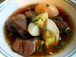 еда, первые блюда, вьетнамская, кухня, суп, мясной