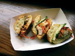 еда, бутерброды,  гамбургеры,  канапе, камбоджийская, кухня, сэндвич