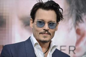 мужчины, johnny depp, актер, лицо, очки