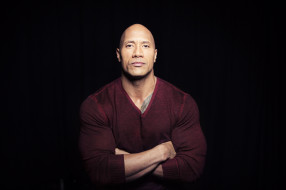 мужчины, dwayne johnson , the rock, актер, свитер