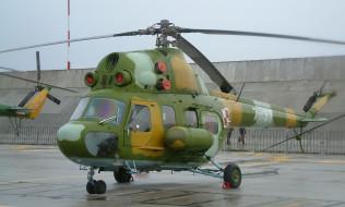 ми-2, авиация, вертолёты, советский, многоцелевой, вертолет, окб, миля